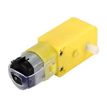 300 RPM Single Shaft Straight Plastic Gear BO Motor For  Arduino/Raspberry-Pi/Robotics