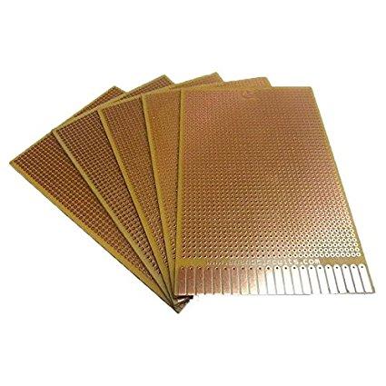 General Purpose Printed Circuit Board-Strip-board (80 x 55 mm)
