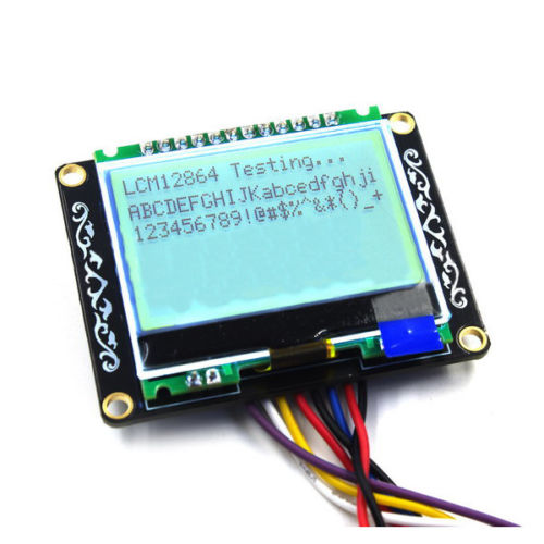 LCM12864 LCD Module Board LCM Display Electronic Building Blocks For Arduino