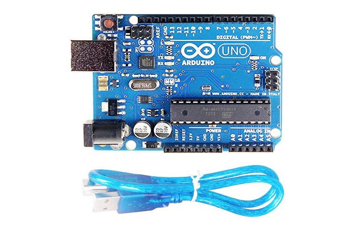 Arduino Uno R3 Board with Usb cable For Robotic Project