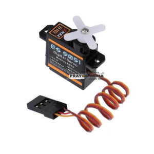 EMAX 4.3g Digital Servo Pastic Gear 0.8kg Torque for 3D F3P Airplanes – ES9051 Online