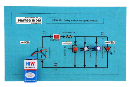 Delay switch using RC circuit Online