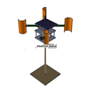 Vertical axis wind turbine dual mode Online