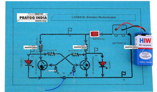 Bistable multibivrator using Transistor Online