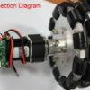 152mm-Double-Aluminum-Omni-Wheel-connection-diagram2www.prayogindia.in