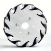 Aluminum Mecanum Bearing Type Roller Wheels2 www.prayogindia.in