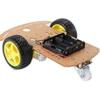 DIY Transparent Motor Smart Robot Car Chassis Kit 2 www.prayogindia.in