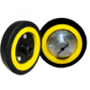 EasyMech 100mm Modified Heavy Duty(HD) Disc Wheel Yellow2 www.prayogindia.in