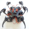 18DOF Aluminium Hexapod Spider Six 3DOF Legs Robot Frame with Servos & Servo Horn & 32CH Controller DIY6