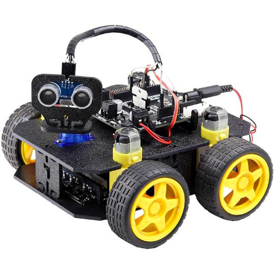 Cligo 4 Wd Smart Intelligent Diy Robot Car Kit V1 0 For Kids