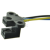 Photoelectric-Speed-Sensor-Encoder-Coded-Disc-code-wheel-for-Freescale-Smart-car